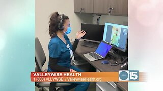 Valleywise Health offers Telehealth visits at all 12 community health centers