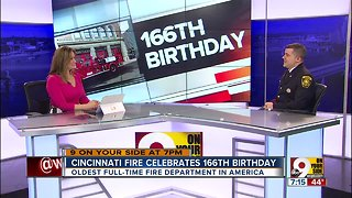 Cincinnati Fire celebrates 166th anniversary