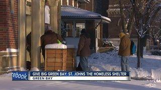 Give BIG Green Bay St. John's Homeless Shelter