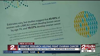 Genetic research showing promise in fighting ovarian cancer