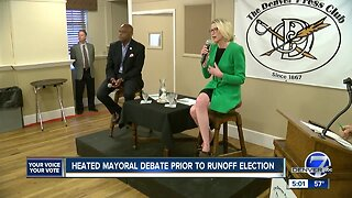 Mayoral race gets heated prior to runoff election