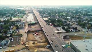 Central 70: Aerial view shows changes