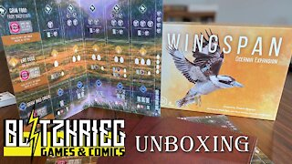 Wingspan: Oceania Expansion Unboxing