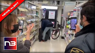 WILD Video from San Francisco Walgreens is Like GTA in Real Life