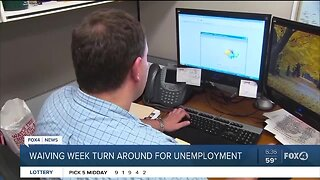 Waiting period waived for unemployment benefits