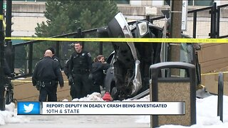 Milwaukee County sheriff's deputy involved in deadly crash now under investigation, report says