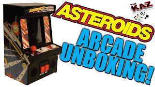 Asteroids Arcade Classics Unboxing