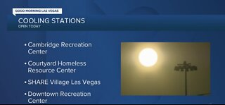 Cooling stations open today