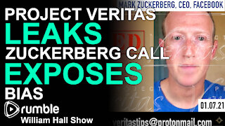Project Veritas LEAKS Zuckerberg Call EXPOSES Bias