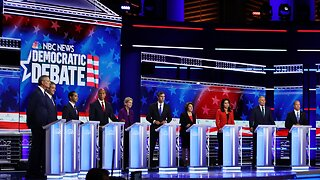 Democratic Presidential Candidates Take Stage For First Debate