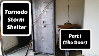 Tornado Storm Shelter Part 1 (Making the Door)