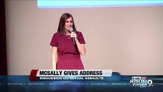 McSally keynote speaker at national discussion on sexual assault