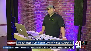 DJ business goes silent during virus pandemic