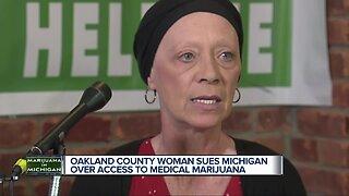 Oakland County woman sues Michigan over access to medical marijuana