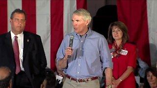 Ohio Republican Senator Rob Portman not yet ready to call Joe Biden President-elect
