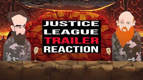 JUSTICE LEAGUE TRAILER REACTION   BUER BITS  