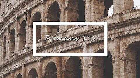 Romans 1:3 KJV