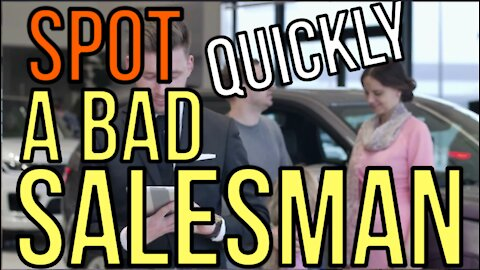 SPOT A BAD CAR SALESMAN: INSTANTLY!!! 13 RED FLAGS! - Auto Expert 2021 The Homework Guy Kevin Hunter