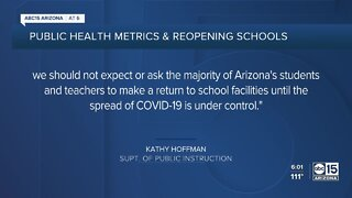 Superintendent Kathy Hoffman: Arizona not in a place to begin in-person learning by August 17