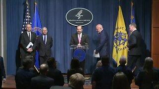 Trump's Coronavirus Task Force Briefing in D.C.