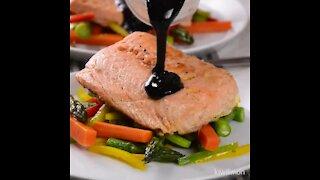 Balsamic Glazed Salmon