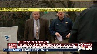 Tulsa police investigating deadly shooting