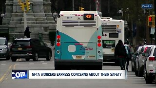 """""""Everyone is scared"""" NFTA workers concerned about their safety"""