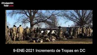 9-ENE-2021 Incremento de Tropas en DC