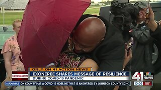 Exoneree shares message of resilience amid COVID-19 crisis
