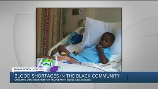 Blood shortages in the Black community