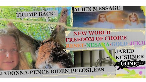 UTSAVA:New World-Alien message-Freedom of choice-Kushner GONE-Trump BACK-Reset-Nesara-JFKjr VP-WHEN?