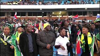 SOUTH AFRICA - Pretoria - Presidential Inauguration - Grandstand (video) (Evc)