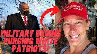 U.S. Military Begins Purging White Patriotic Americans!