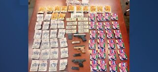 Drug bust on Las Vegas Strip