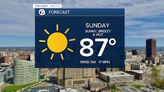 7 First Alert Forecast 6 p.m. Update, Saturday, June 5