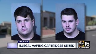 Authorities bust marijuana, vape operation in north Phoenix