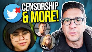 Social media censorship and more...