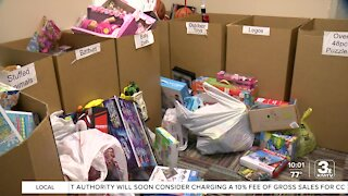 Family commemorate son's birthday by donating toys to children facing homelessness