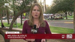 Protesters storm Arizona capitol