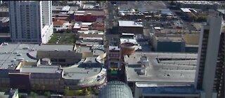 Free parking in downtown Las Vegas