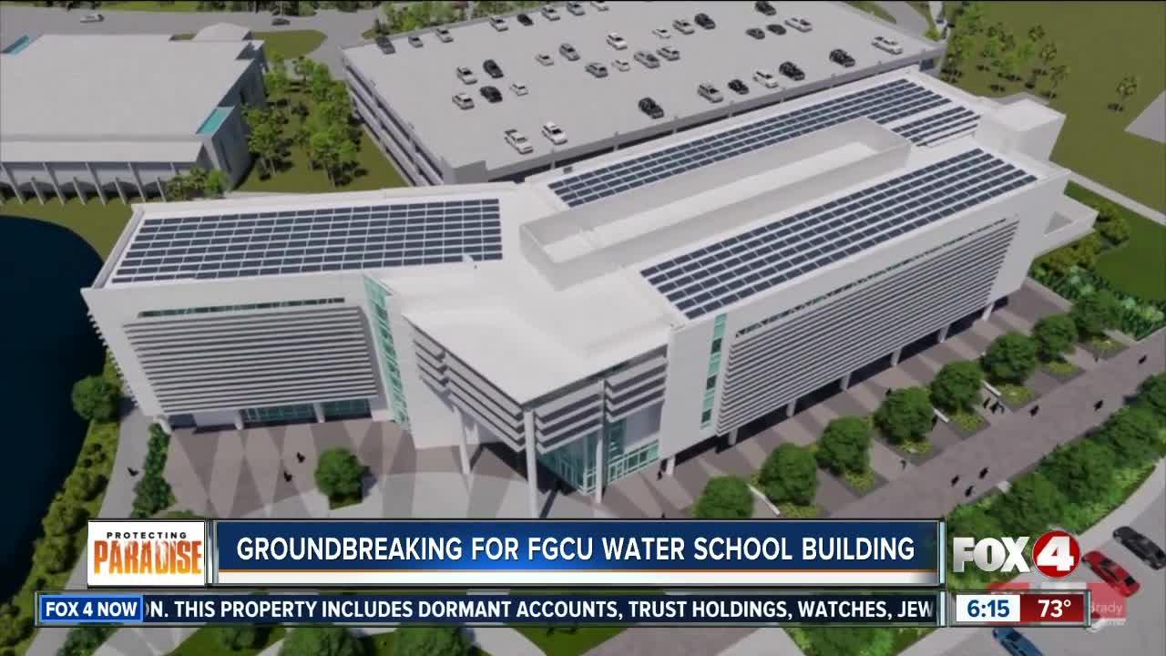 FGCU breaks ground on new Water School building