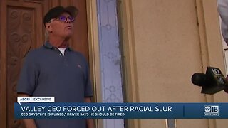 """Valley CEO forced out after racial slur, """"My life has been ruined"""""""