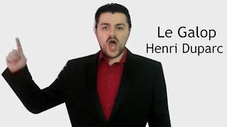 Le Galop - Henri Duparc