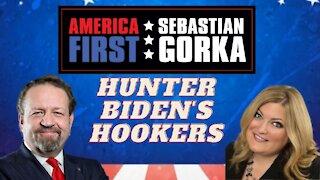 Hunter Biden's hookers. Jennifer Horn with Sebastian Gorka on AMERICA First