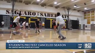 Arizona high school winter sports canceled due to COVID-19 pandemic