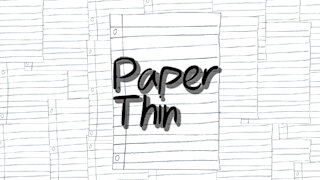 Paper Thin: a suicide prevention animation