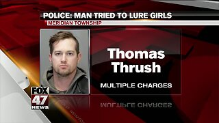 Man arrested in child sexual abuse incident in Meridian Township