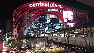 CentralPlaza WestGate at Nonthaburi Province in Thailand