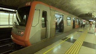 Metro Los Orientales in Santiago, Chile