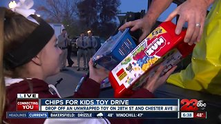 California Highway Patrol hosts its CHiPS For Kids toy drive